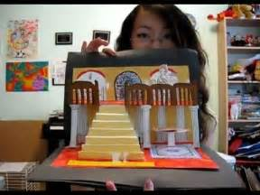 pop up storybook template how to make a 3d pop up card or book re upload