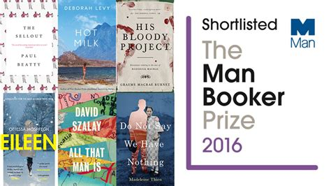 Booker Prize Also Search For Booker Prize Announces 2016 Shortlist The Booker Prizes