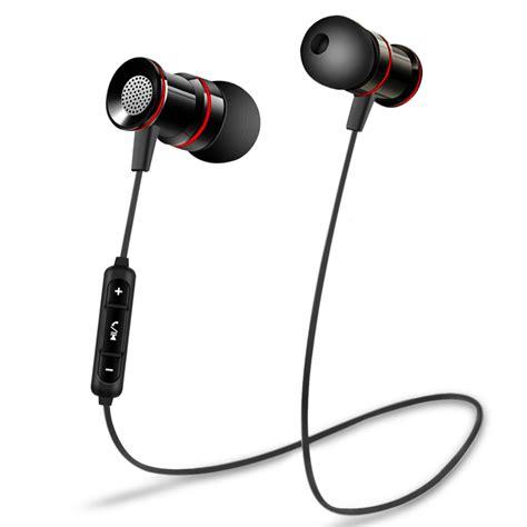 Rez Sport Wireless Bluetooth Earphone Dengan Mic Bx441 Rez Bm9 Bluetooth 4 2 Earphone Sport Running Headphone Wireless Headset With Microphone Earbuds