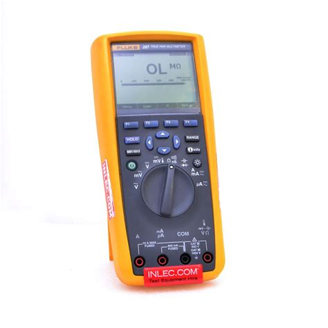 Multimeter Fluke 287 fluke 287 digital multimeter hire inlec