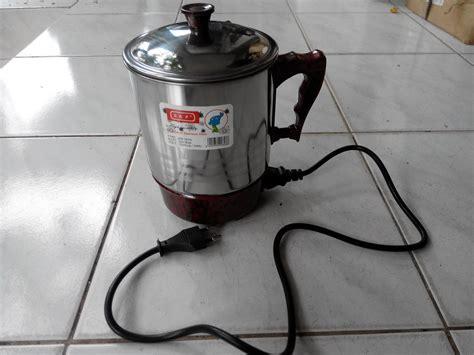 Teko Listrik Stainless jual mug teko listrik stainless steel sap br2014 cahaya
