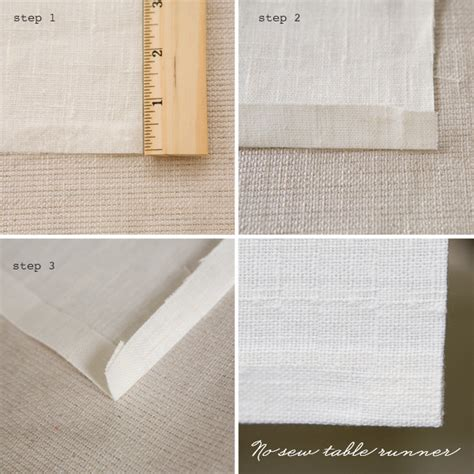 Diy Table Runner by Diy No Sew Table Runner 183 Ruffled