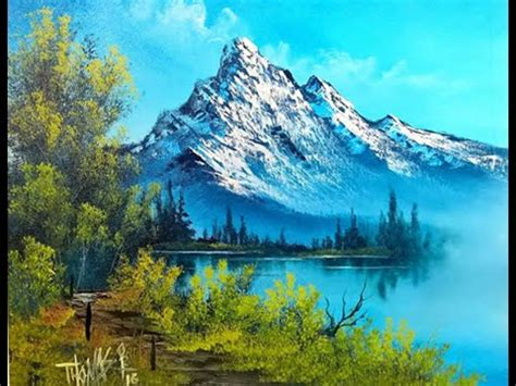 bob ross paintings with acrylics free painting lesson landscape painting painting with