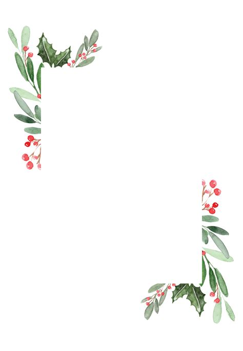 holidays greenery christmas card   island