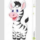 Cute Baby Zebra Cartoon Royalty Free Stock Image - Image: 33233216