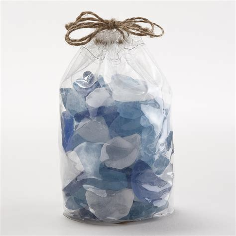 Blue Vase Filler by Blue Seaglass Vase Fillers World Market