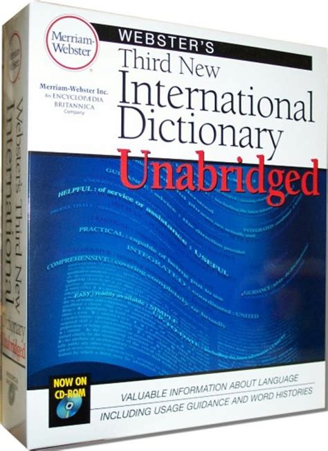 webster s new international dictionary of the language classic reprint books merriam webster s third new international dictionary