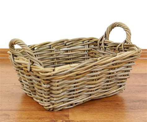 Handmade Decorative Baskets - asian rattan baskets decorative bread fruit baskets