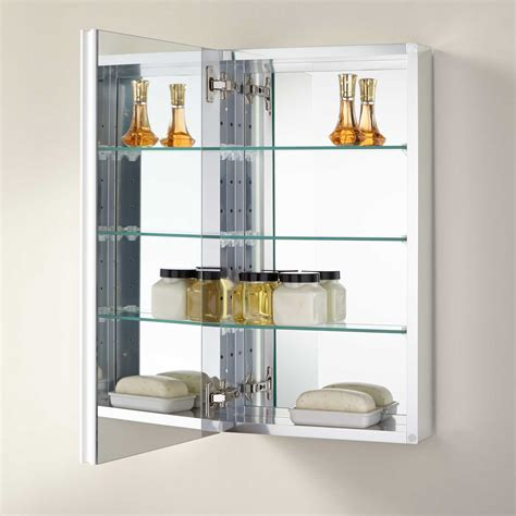15 x 24 recessed medicine cabinet signature hardware 15 quot bernstein recessed deco aluminum