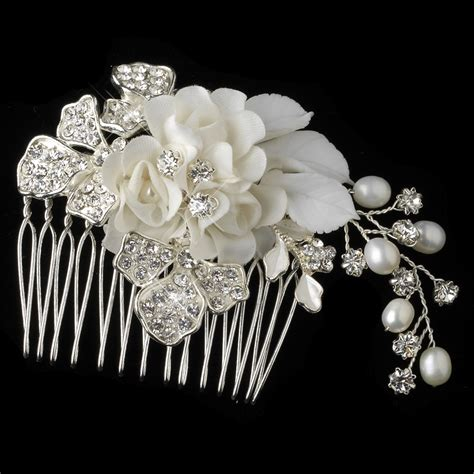 Floral Bridal by Cameron Floral Bridal Comb Bridal Hair Accessories