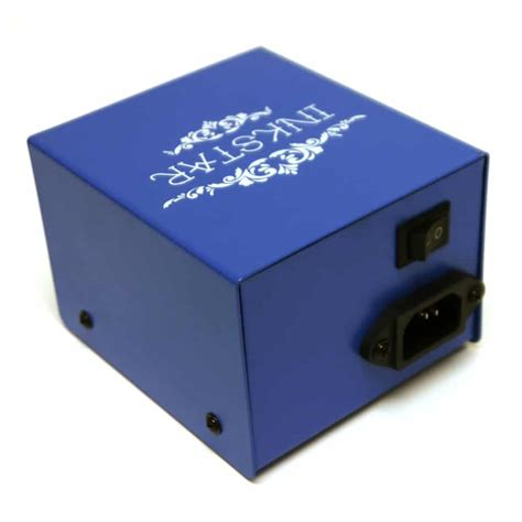tattoo power box inkstar blue box power supply for machines