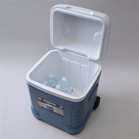 igloo ice cube roller cooler igloo ice cube maxcold roller 70 quart coolerssale