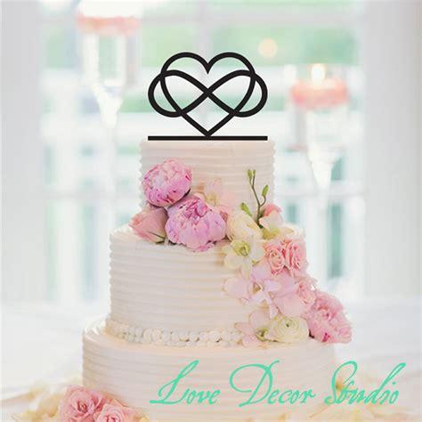 infinity wedding 6 quot infinity cake topper infinity wedding cake