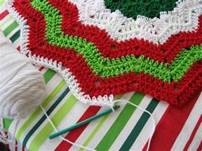 Personalized Christmas Tree Skirts Crocheted Christmas Tree Pattern Design Patterns