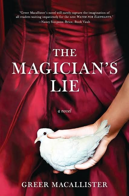 a s lie books q a with greer macallister author of the magician s lie
