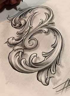 sam alfano engraver leaf script  mmmmmm