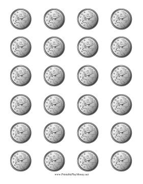 printable picture of quarter printable canadian quarter reverse