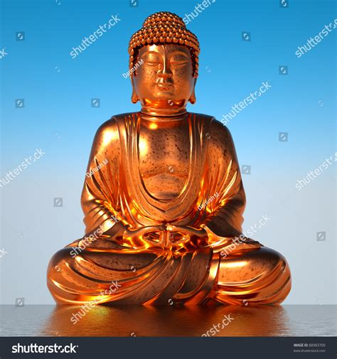 gold buddha on water stock photo 88983700 shutterstock