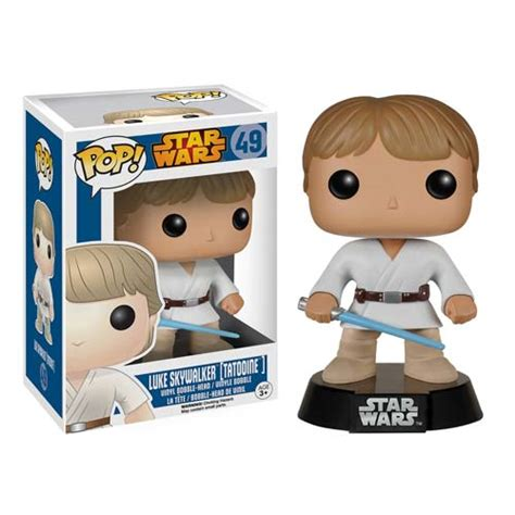 Funko Pop Wars Episode 7 The Awakens Luke Skywalker wars tatooine luke skywalker pop vinyl bobble funko wars pop vinyl