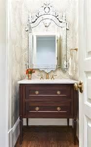 Lotus Wallpaper Farrow And Purple Bathroom With Purple Lotus Wallpaper Contemporary