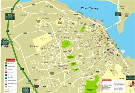 map of wexford town map of wexford