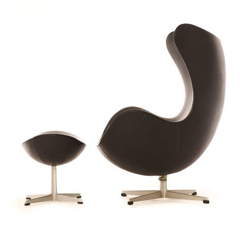 Modern Egg Chair by Modern Egg Chair With Ottoman For Sale At 1stdibs