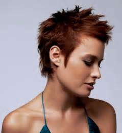 spikey womens hairstyles short spiky haircuts and hairstyles for women 2017 very short asymmetrical with bangs
