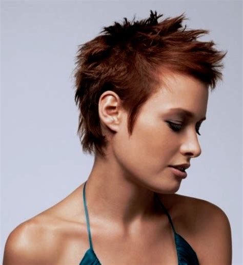 womens short spike hairstyles short spiky haircuts and hairstyles for women 2017 very