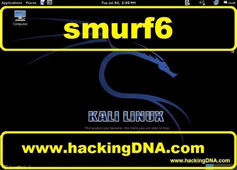 kali linux lan tutorial hackingdna smurf6 on kali linux