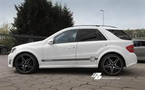 Mercedes W164 Mercedes Ml W164 Front Bumper Aerodynamics Fits All Ml350