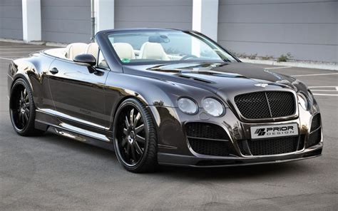 bentley price prior design releases bentley continental gtc high society