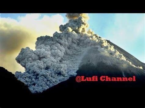 detik detik gunung agung meletus video amatir detik detik gunung merapi meletus 27 maret