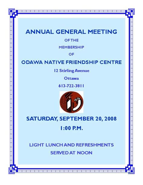 Sle Invitation Letter For Annual General Meeting invitation letter for annual event choice image