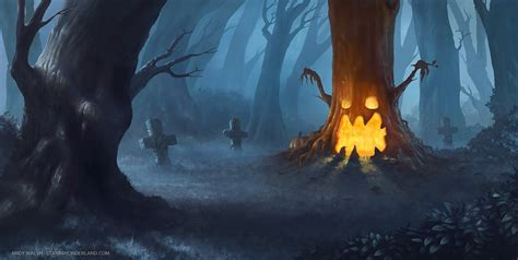 Halloween Pumpkin Making - the pumpkin tree by stayinwonderland on deviantart