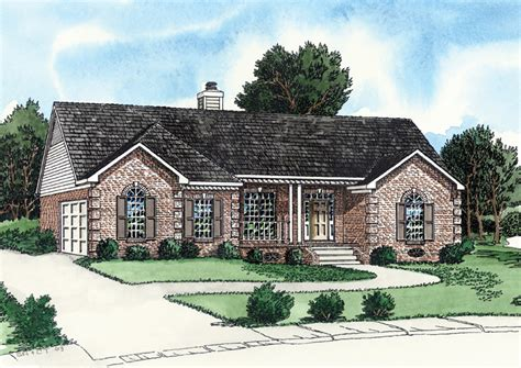 sand hill craftsman ranch home plan 013d 0151 house plans and more side entry garage house plans numberedtype