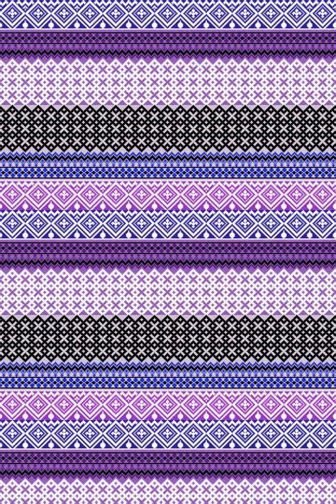 Ac 2503 Black purple aztec print wallpaper www imgkid the image kid has it