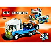 LEGO Mini Truck Instructions 4838 Creator