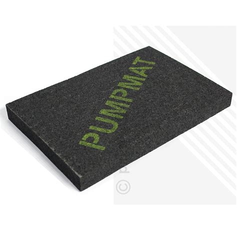 sound absorbing rugs pumpmat sound absorption mat for shower pumps