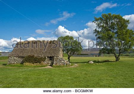 National Trust For Scotland Cottages by Leanach Cottage Culloden Scotland The Only Building