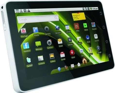 Olive Pad olivepad tablet upgraded to android 2 2 and available in stores now