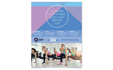 Personal Training Templates Word Publisher Powerpoint Microsoft Office Template Center