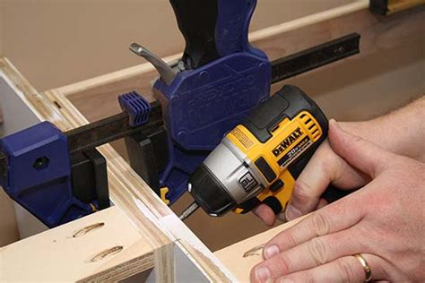 best screws for attaching cabinets together build your own custom built in entertainment center