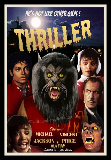 michael jackson biography movie 2010 thriller 1950 s poster by smalltownhero on deviantart