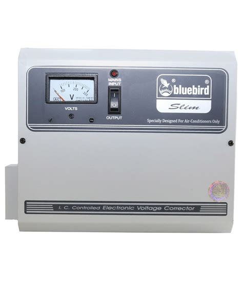 bluebird 5 kva 140v voltage stabilizer for ac upto 2 ton
