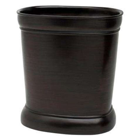 wastebaskets for bathrooms india ink waste baskets bathroom decor the home depot