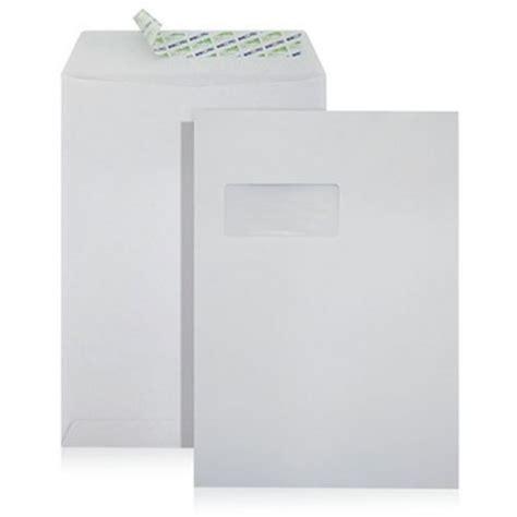 Pocket Sealer 12 Regular Molins 229x324mm white peel seal envelope with window international