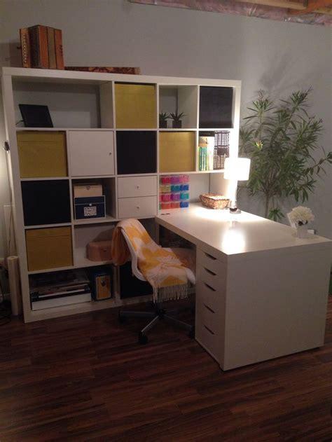 bureau ikea expedit expedit atelier expedit craft room atelier de dessin