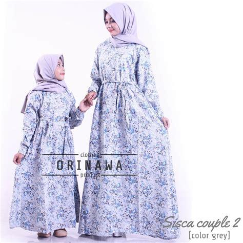 Baju Gamis Wanita Gamis Katun Jepang Gamis Rumanah Syari 25 koleksi model gamis katun jepang elegan dan modis