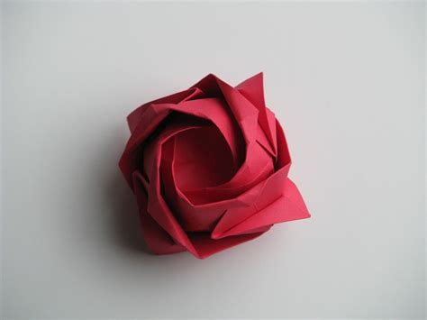 How To Fold Paper Roses - easy origami flowers step by step car interior design
