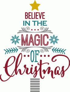 kerst layout word believe in magic of christmas word tree kerst